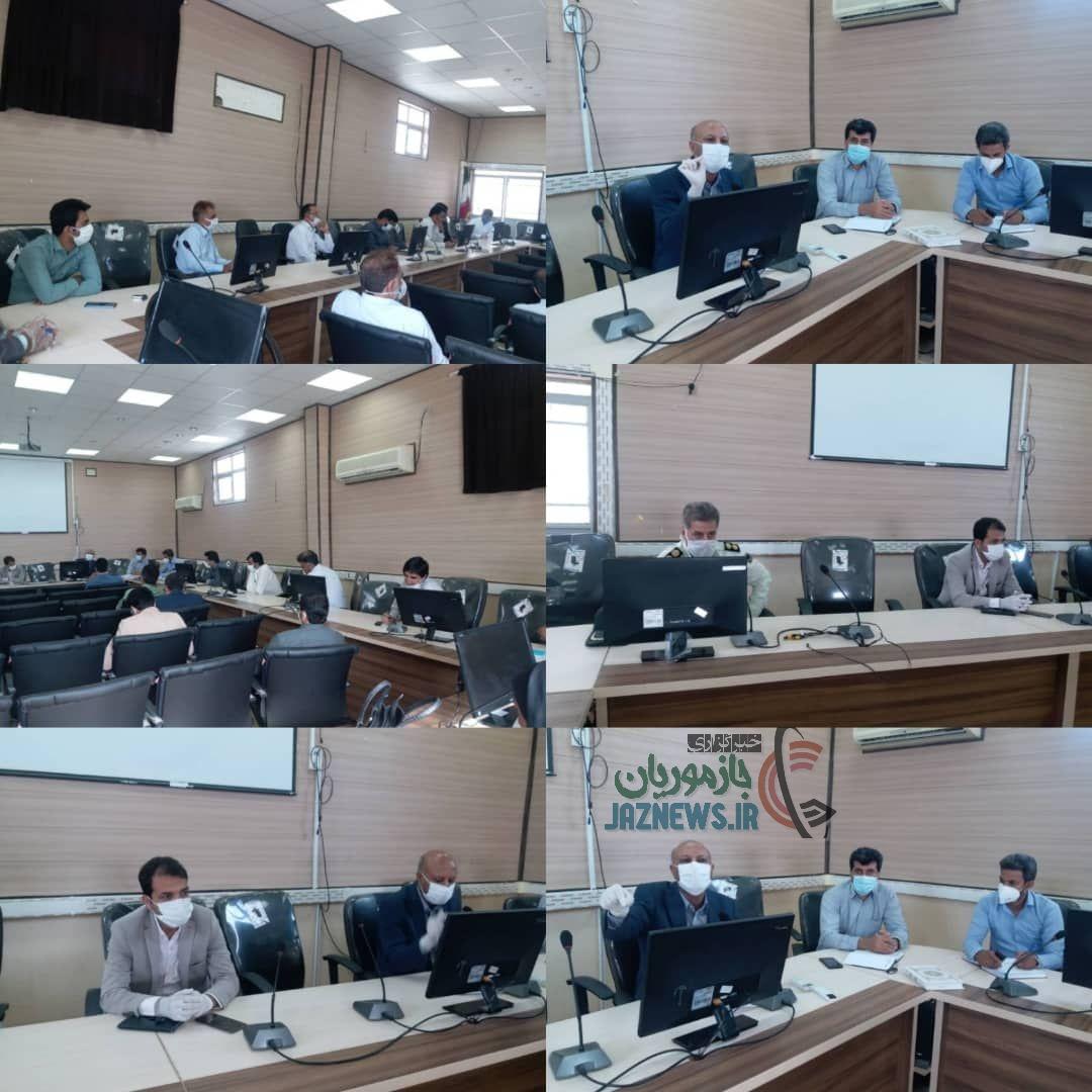 جلسه شورای سلامت قلعه گنج به ریاست دکتر شهسواری برگزار شد