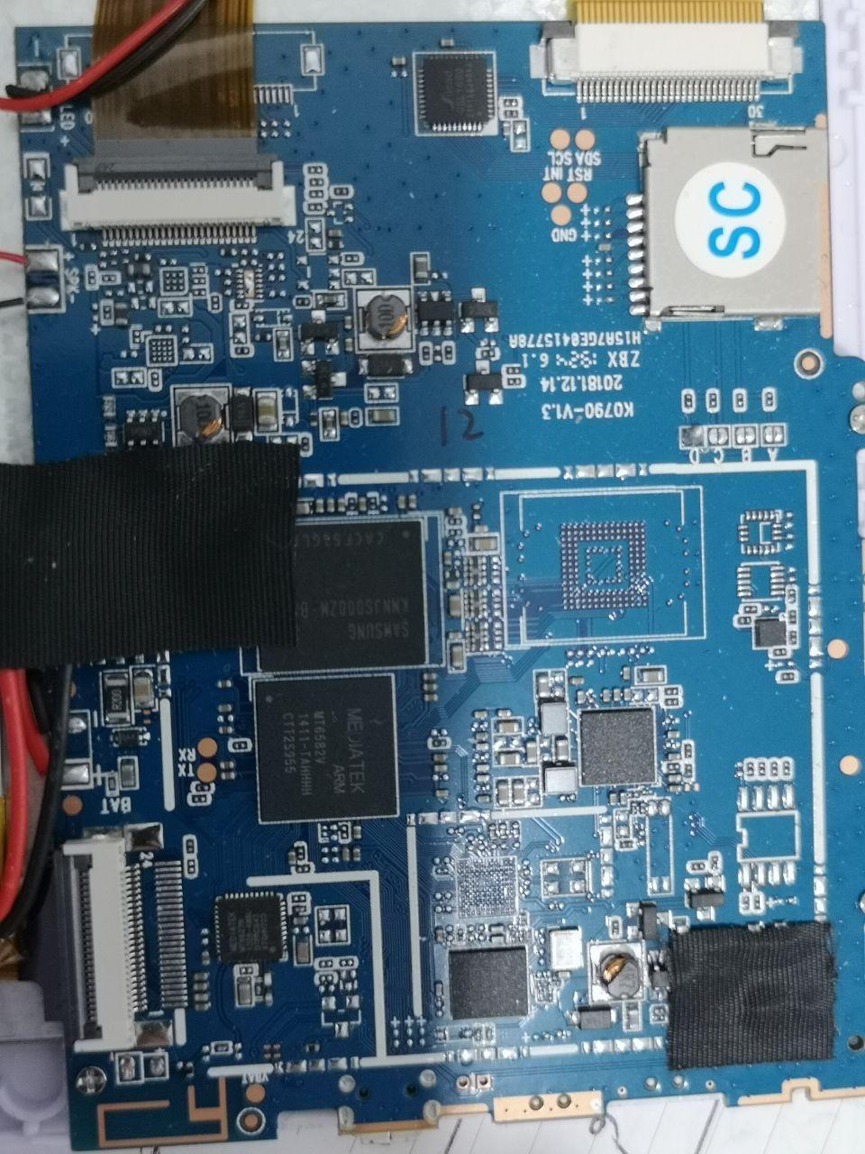 فایل فلش نایاب چینی K0790 V1.3 MT6582