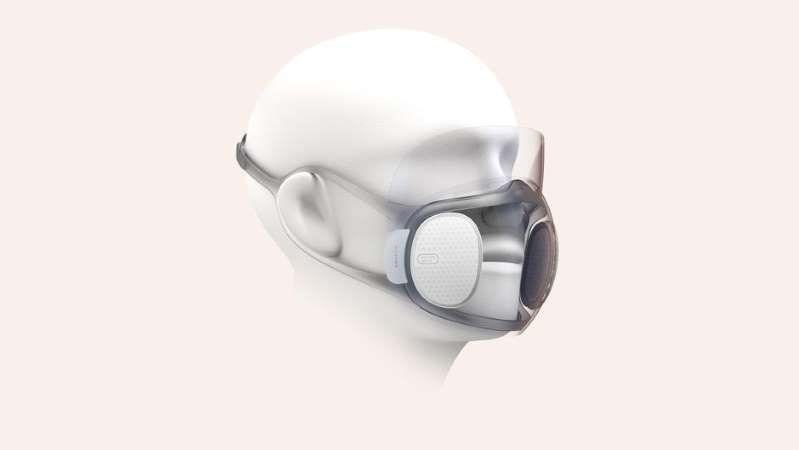 ماسک های شفاف