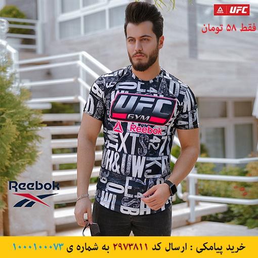 خرید پیامکی تیشرت مردانه Reebok مدل UFC