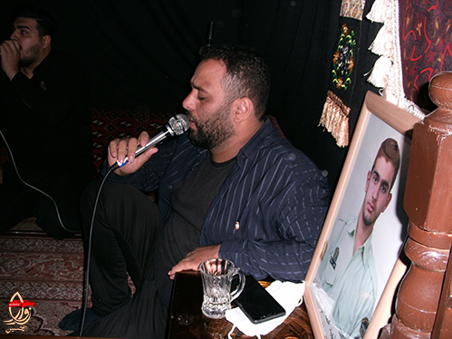 مداحی کربلائی حامد گلشتن در مراسم هشتمین سالگرد شهادت شهیددولت آبادی