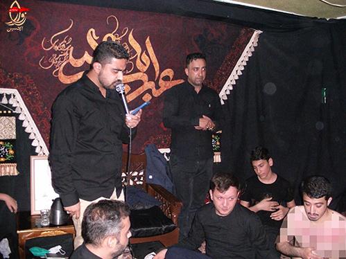 مداحی کربلائی محمدحسین آخوندی در مراسم هشتمین سالگرد شهادت شهیددولت آبادی