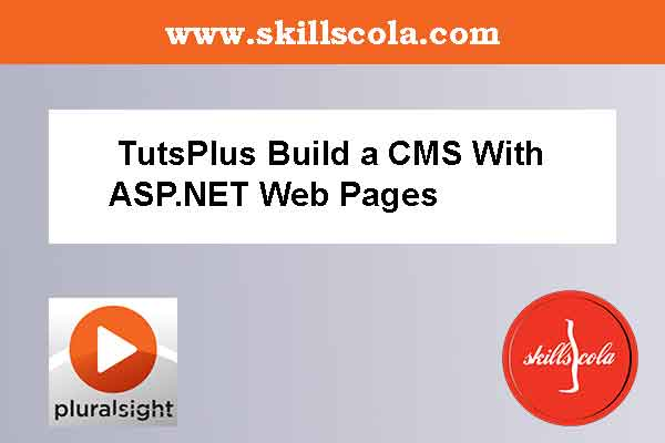 TutsPlus Build a CMS With ASP.NET Web Pages