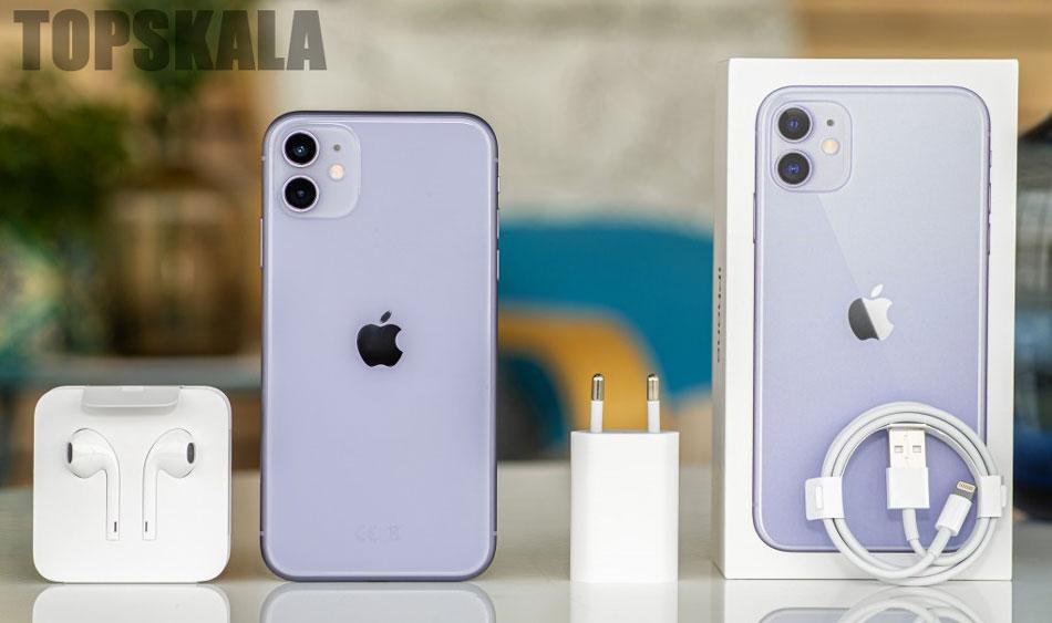 گوشی موبایل محصول شرکت اپل مدل iPhone 11 -آیفون 11- دو سیم کارت با حجم 128 گیگابایت با 18 ماه گارانتی و 30 ماه خدمات نرم افزاری به همراه ریجستری پلمپ و آکبند / Apple-iPhone-11-Dual-SIM-128GB-Mobile-Phone