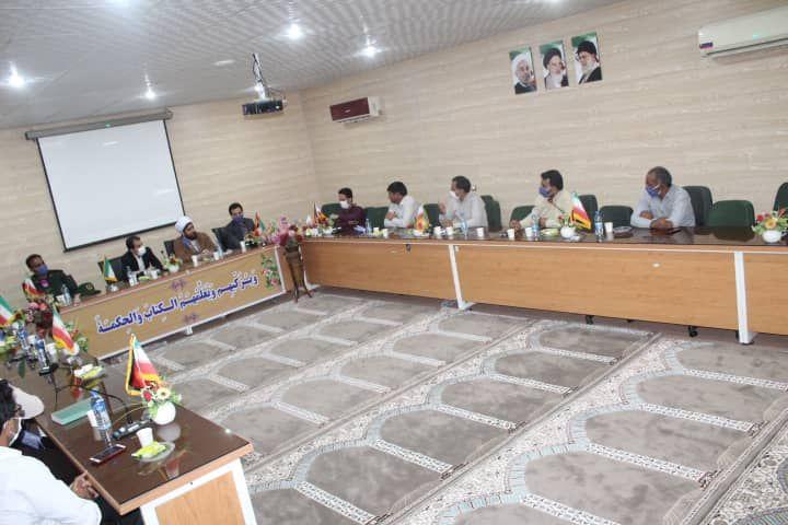 برگزاری جلسه ی شورای اموزش و پرورش قلعه گنج