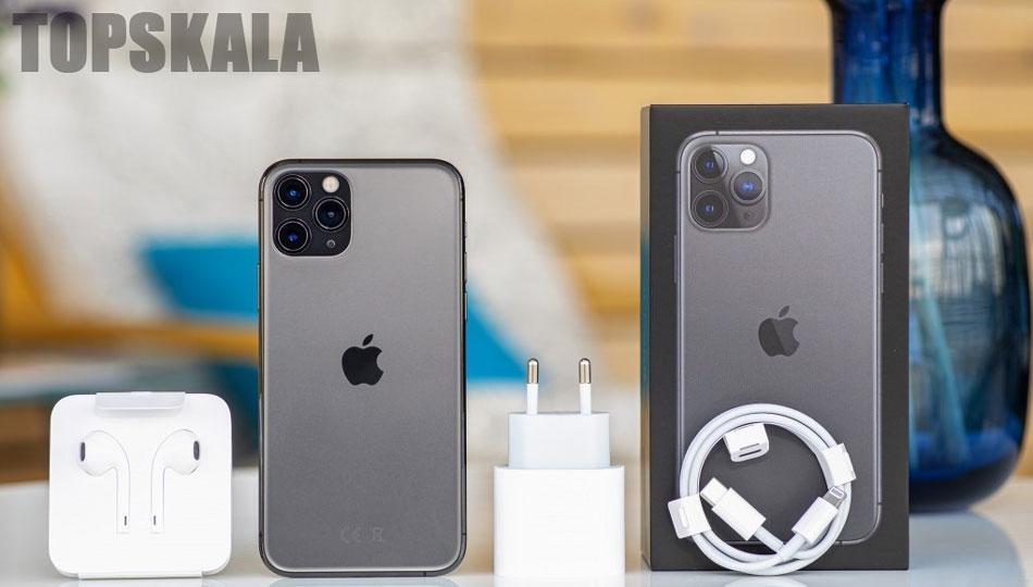 گوشی موبایل محصول شرکت اپل مدل iPhone 11 Pro -آیفون 11 پرو- دو سیم کارت با حجم 256 گیگابایت با 18 ماه گارانتی و 30 ماه خدمات نرم افزاری به همراه ریجستری پلمپ و آکبندApple-iPhone-11-Pro-Dual-SIM-256GB-Mobile-Phone