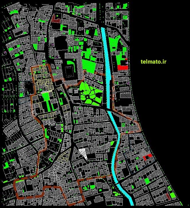 فایل دانلود رایگان نقشه های اتوکد utm و کاداستر تهران کلیه منظقه ها DWG تلماتو autocad نقشه های هوایی تهران