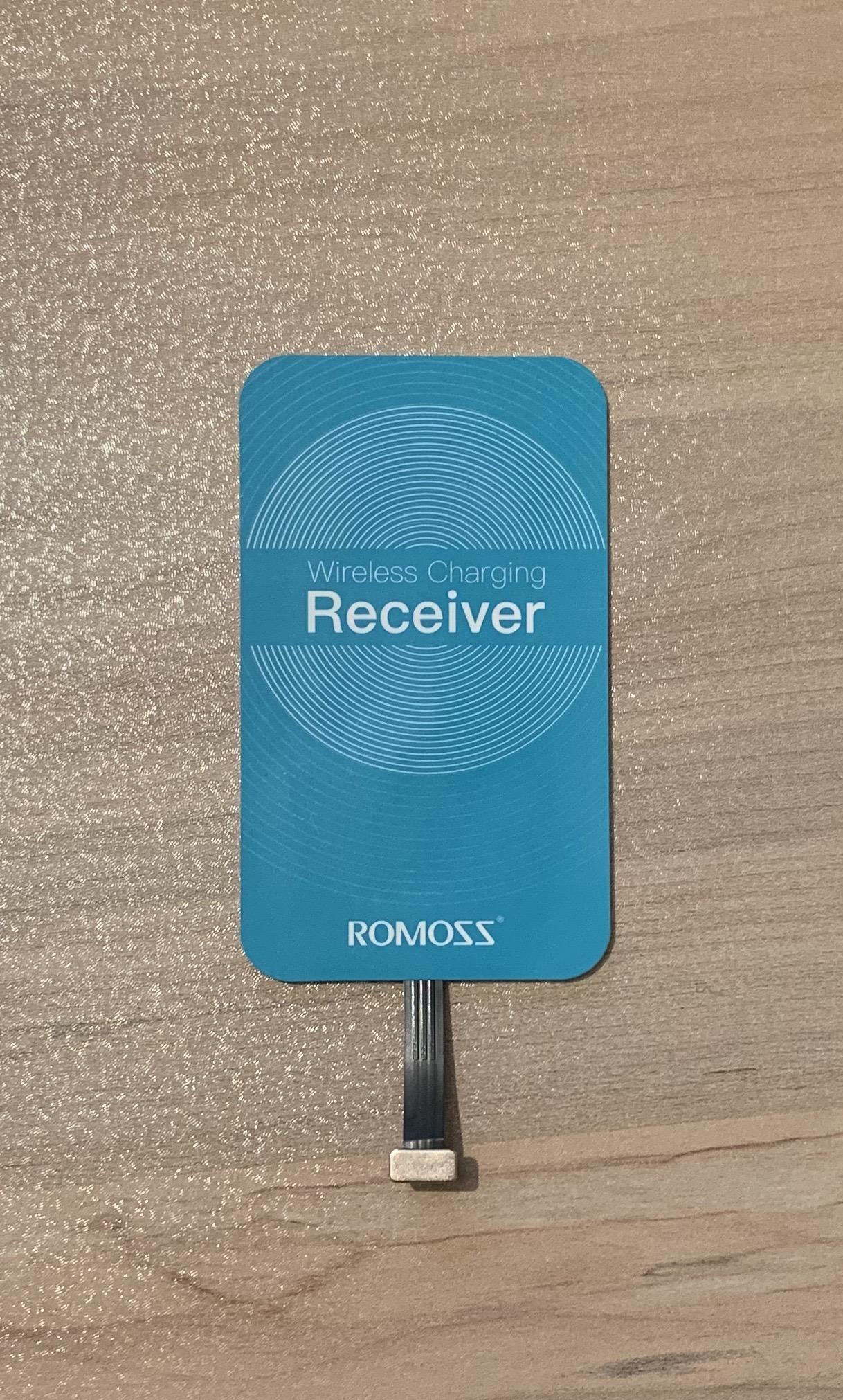 گیرنده شارژر بی سیم روموس مدل RL01 مناسب برای گوشی موبایل آیفون