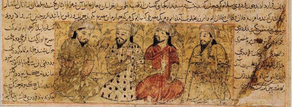 کهنترین تصویر از فردوسی مربوط به سال ۷۴۱ قمری