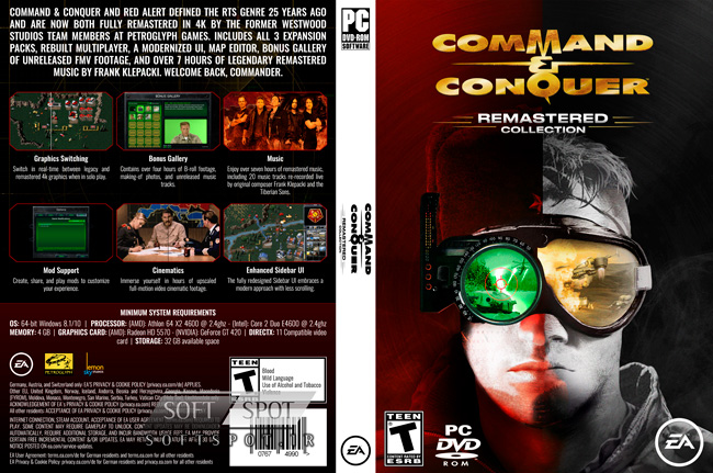 Command & Conquer Remastered Collection Cover