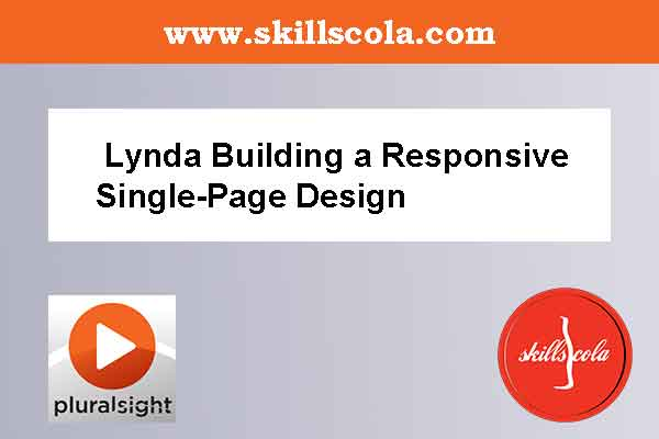 Lynda Building a Responsive Single-Page Design
