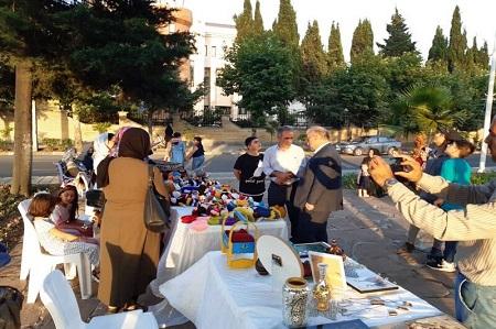 نمایشگاه صنایع دستی آستارا دایر شد