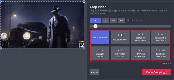 آموزش تصویری تنظیم زمان ویدیو و برش دلخواه فیلم استوری اینستاگرام