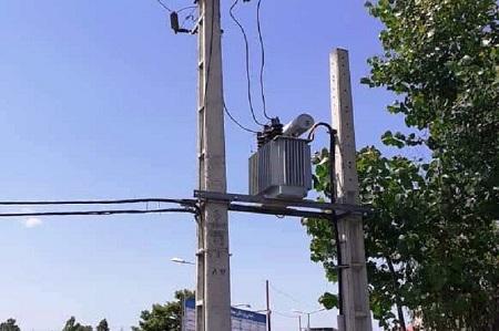 اداره برق آستارا افت ولتاژ ۱۸۵ مشترک را برطرف کرد