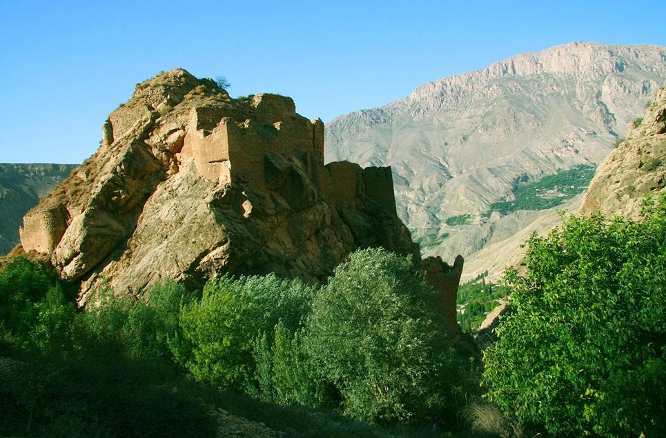 شاهاندشت آمل قلعه ملک بهمن