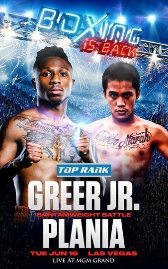 دانلود رویداد بوکس : Top Rank Boxing-Joshua.Greer vs Michael Plania-2020.06.16