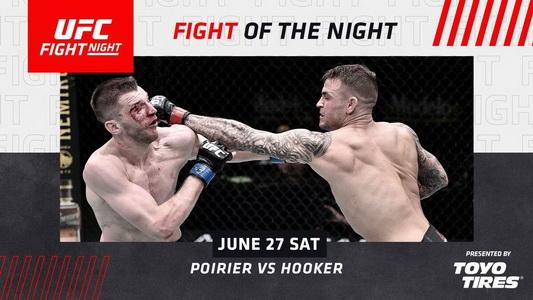 نتایج رویداد :  UFC on ESPN 12: Dustin Poirier vs. Dan Hooker