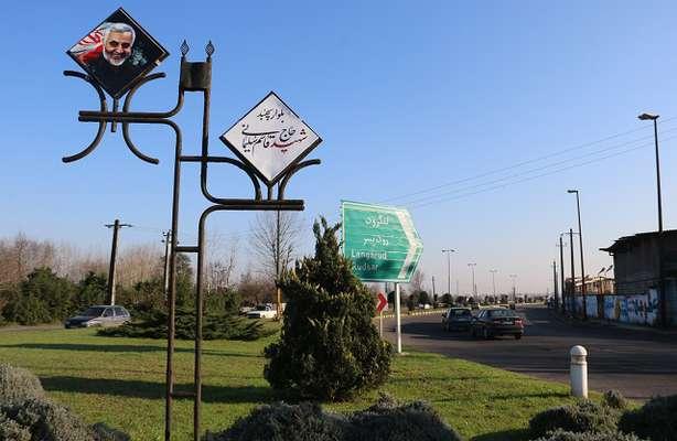 طولانی ترین بلوار لاهیجان به نام سپهبدشهیدسلیمانی نامگذاری شد