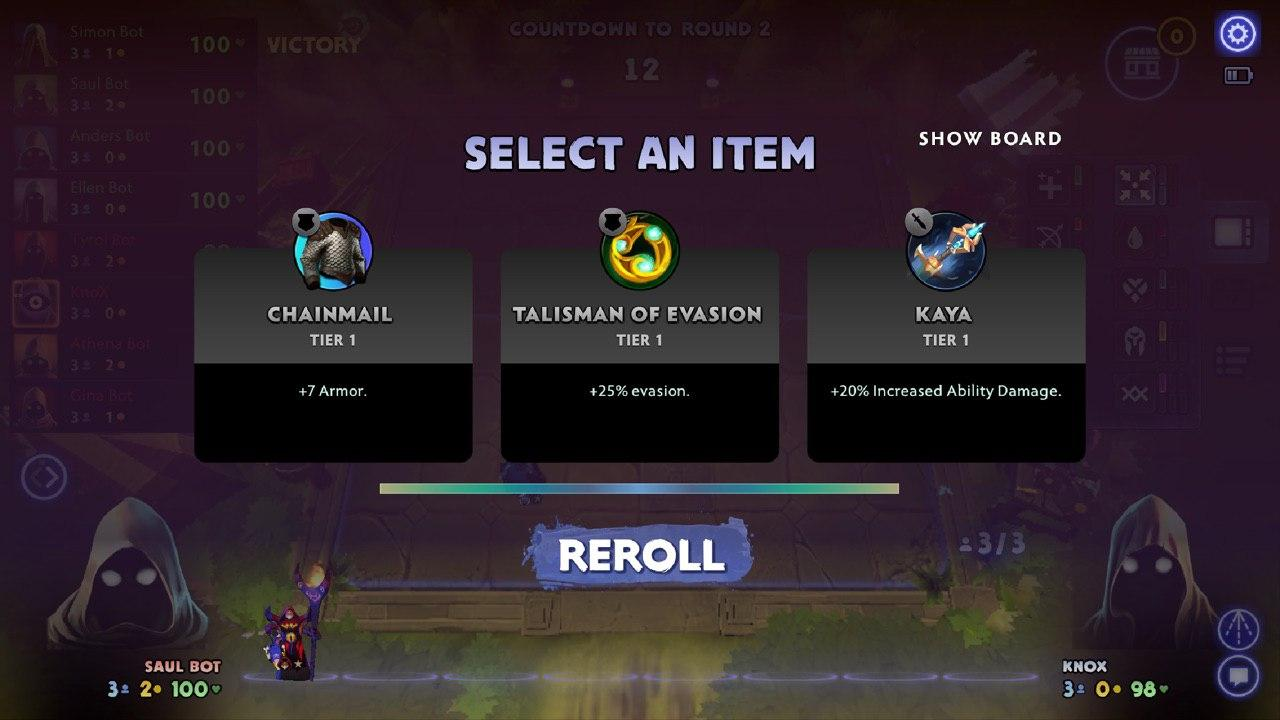Loot Round و Items