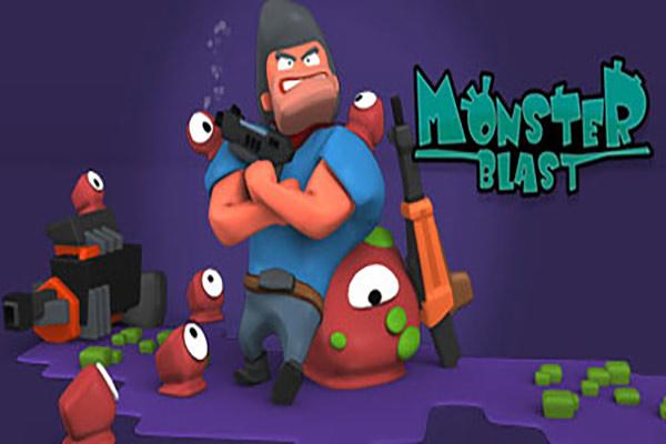 دانلود بازی کامپیوتر انفجار هیولا Monster Blast