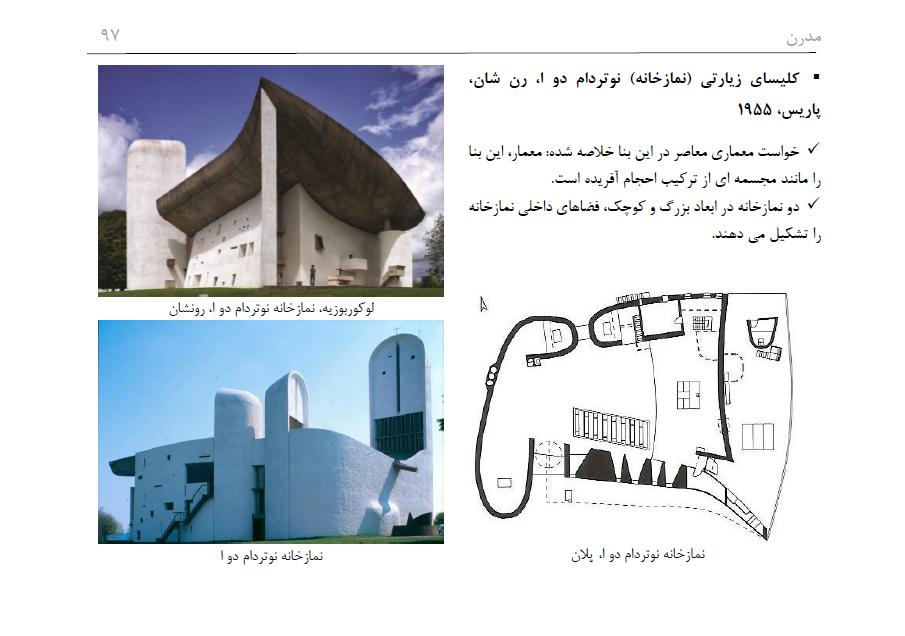 دانلود جامع ترین فلش کارت تاریخ جنبش معماری مدرن