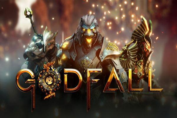 طرح روی جلد بازی Godfall