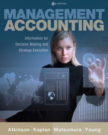 حل المسائل کتاب حسابداری مدیریت آنتونی اتکینسون و روبرت کاپلان