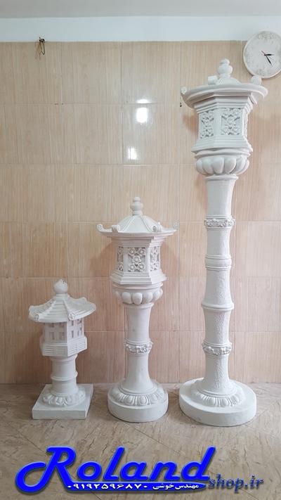 آباژور ایستاده فایبرگلاس کلبه | مجسمه فایبرگلاس