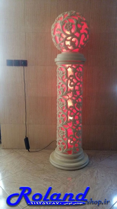 آباژور فایبرگلاس گوی رولند 180 سانتی | مجسمه فایبرگلاس