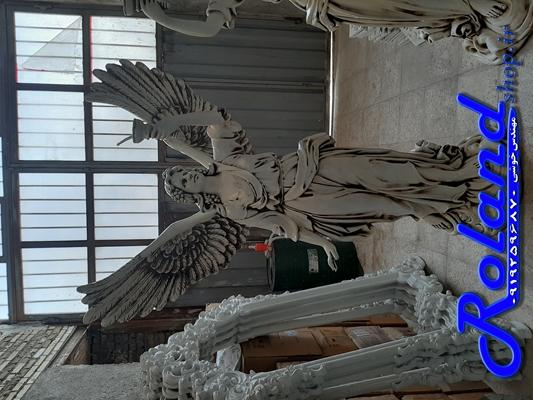 مجسمه بزرگ بالدار فایبرگلاس رولند | مجسمه فایبرگلاس | مجسمه ایستاده فایبرگلاس