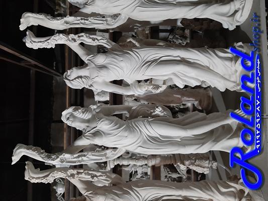 مجسمه فایبرگلاس، مجسمه آباژور، مجسمه روشنایی فایبرگلاس، آباژور فایبرگلاس، دکور محوطه، تزئین محوطه باغ با مجسمه های زیبا - مجسمه های باغی در محوطه سازی، مجسمه ایستاده فایبرگلاس