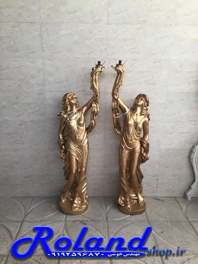 مجسمه مستانه فایبرگلاس -مجسمه ازادی  فایبرگلاس، مجسمه آباژور، مجسمه روشنایی فایبرگلاس، آباژور فایبرگلاس، دکور محوطه، تزئین محوطه باغ با مجسمه های زیبا - مجسمه های باغی در محوطه سازی، مجسمه ایستاده فایبرگلاس