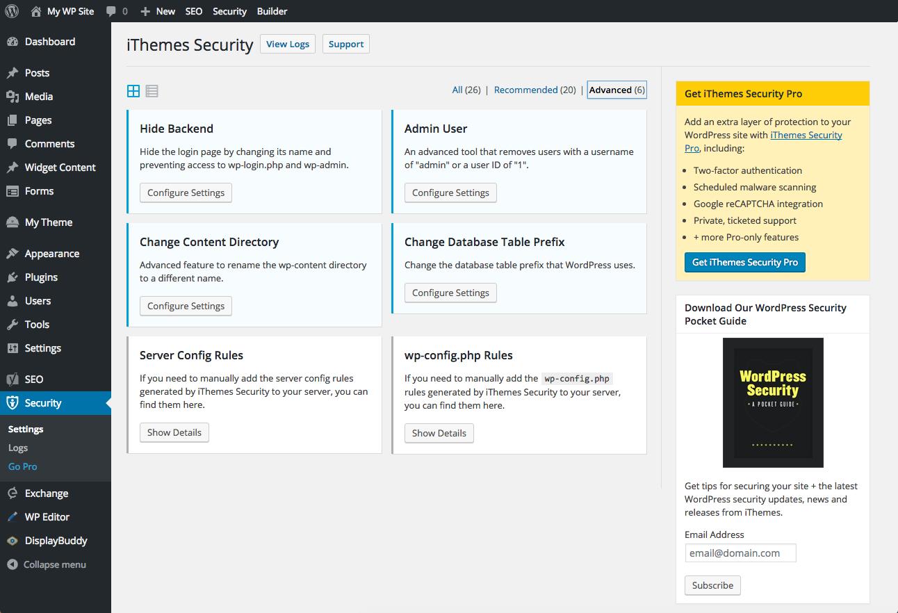 ابزار وردپرسی مربوط به طراحی سایت