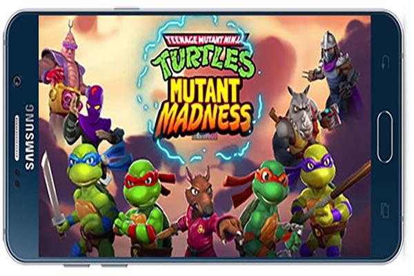 دانلود بازی اندروید TMNT: Mutant Madness v0.22.0