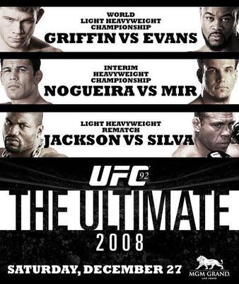 دانلود یو اف سی 92 | UFC 92: The Ultimate 2008