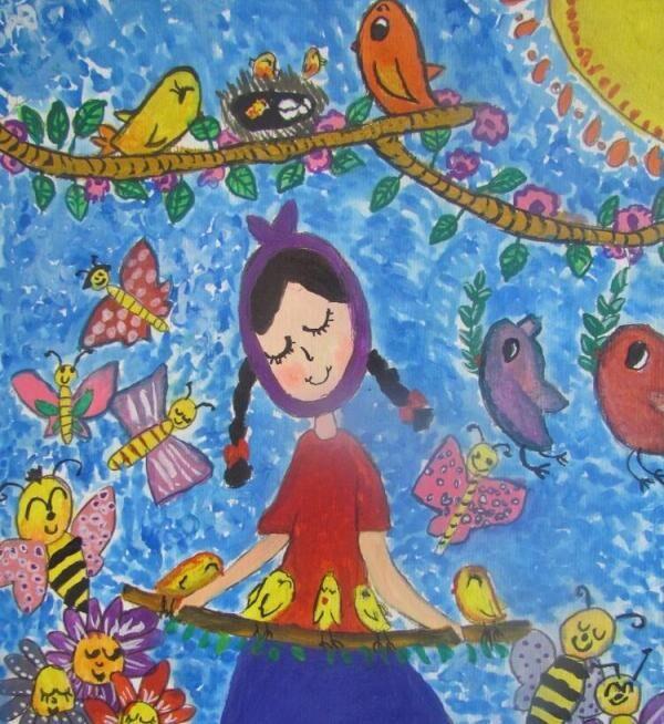 ۲ کودک عضو کانون گیلان برگزیده جشنواره ملی نقاشی صلح و دوستی شدند